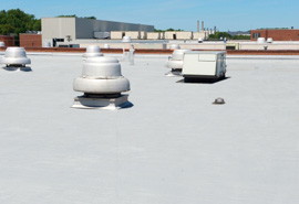 Commercial Foam Roofing