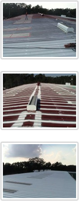 Metal Roofing Coating and Restoration