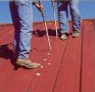 Caulking for Metal Roof Coating